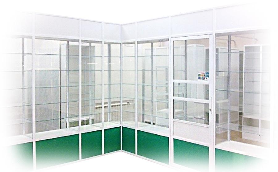 Изготовим торговое оборудование для Аптек всех типов