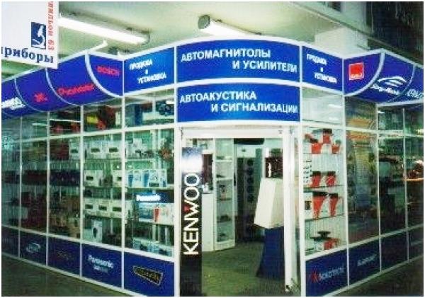 оборудование для магазина автозапчастей - витрины, прилавки на заказ