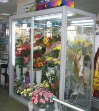 торговое оборудование для цветочных магазинов